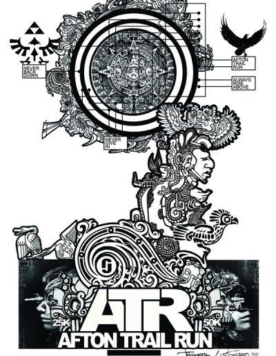 Afton Poster 2012 BW