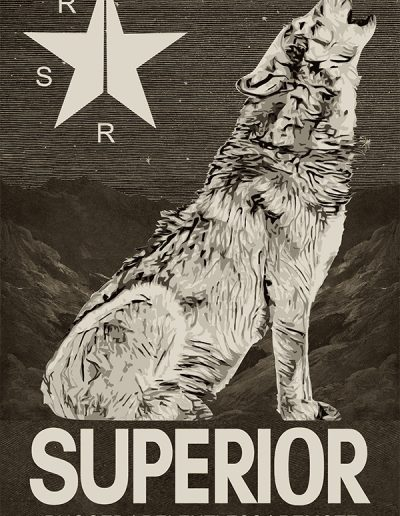 Superior Fall Poster 2019 The Wolf